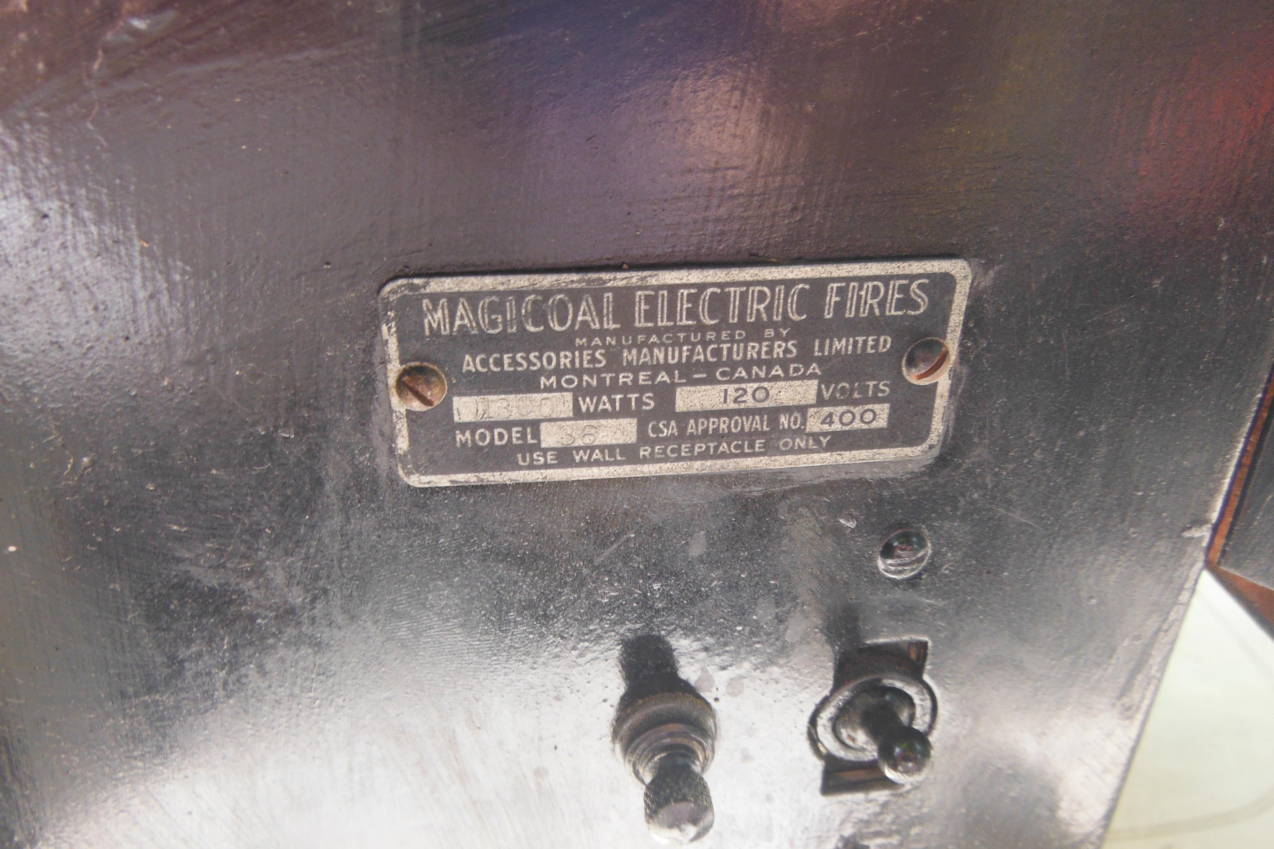 collectivator antique cast iron magicoal electric fireplace